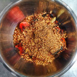 Smoked tomato salmorejo recipe